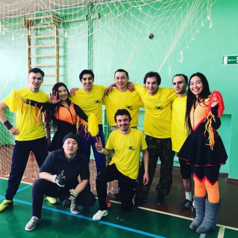 Молодёжный театр занял второе место в соревнованиях по мини-футболу среди театров!