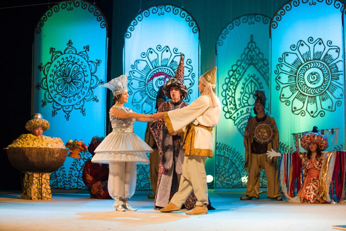 В Молодёжном театре готовятся отпраздновать юбилейный спектакль «Аладдин»