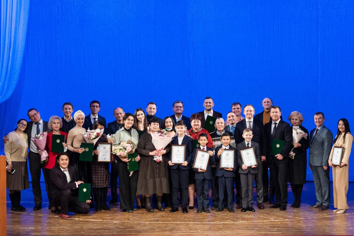 В Национальном молодежном театре состоялось торжественное вручение
